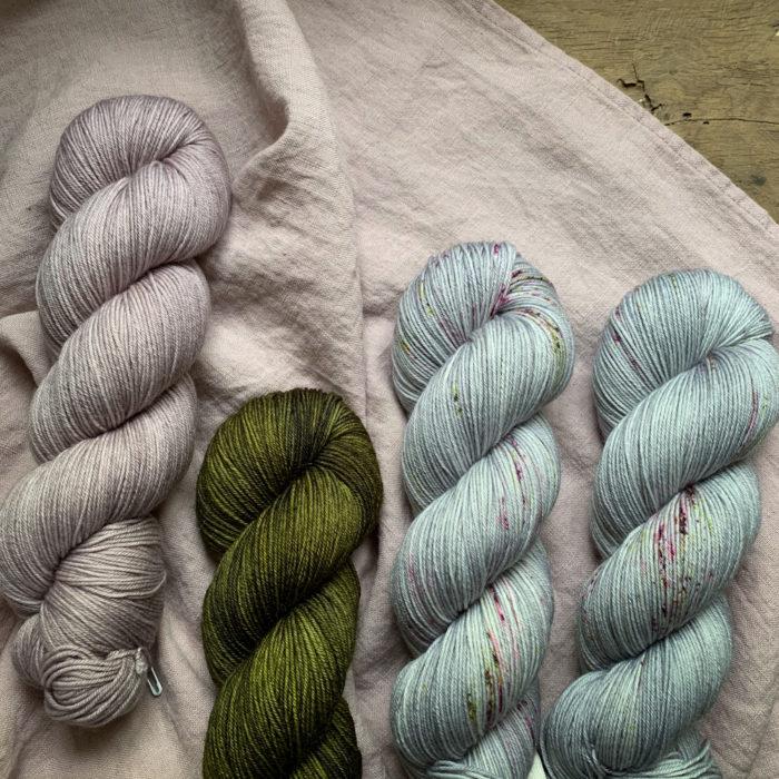 ISAURE - FIL FINGERING MERINO-NYLON - Woolissime Yarns