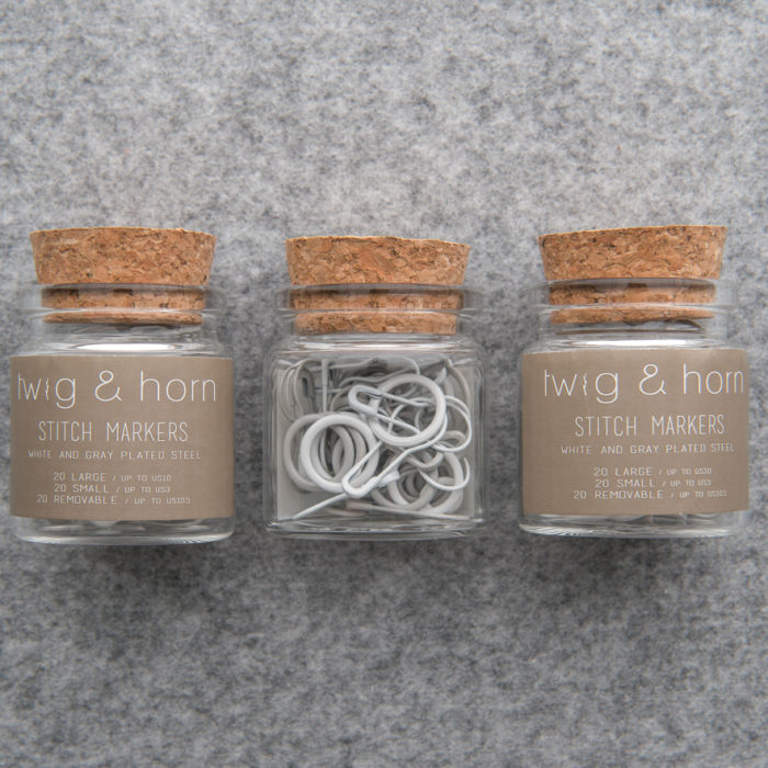 STITCH MARKER COMBO PACK - Twig and Horn