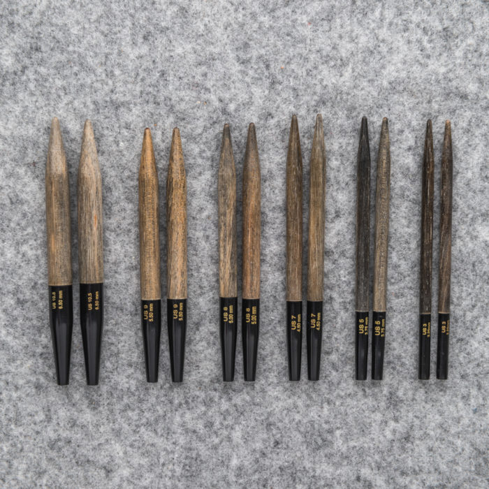 """DRIFTWOOD"" INTERCHANGEABLE NEEDLE TIPS ""3,5"" - Lykke"