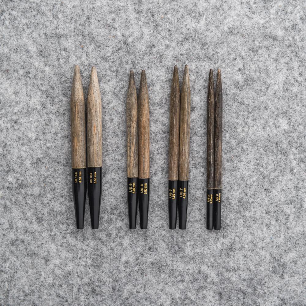 SET AIGUILLES INTERCHANGEABLES 9 cms - Lykke