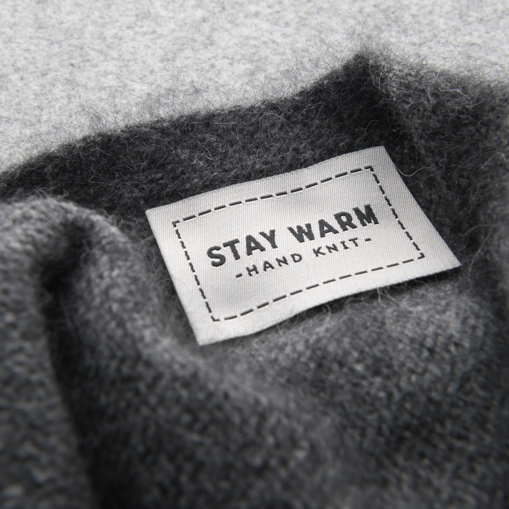 STAY WARM WOVEN LABELS - Twig and Horn