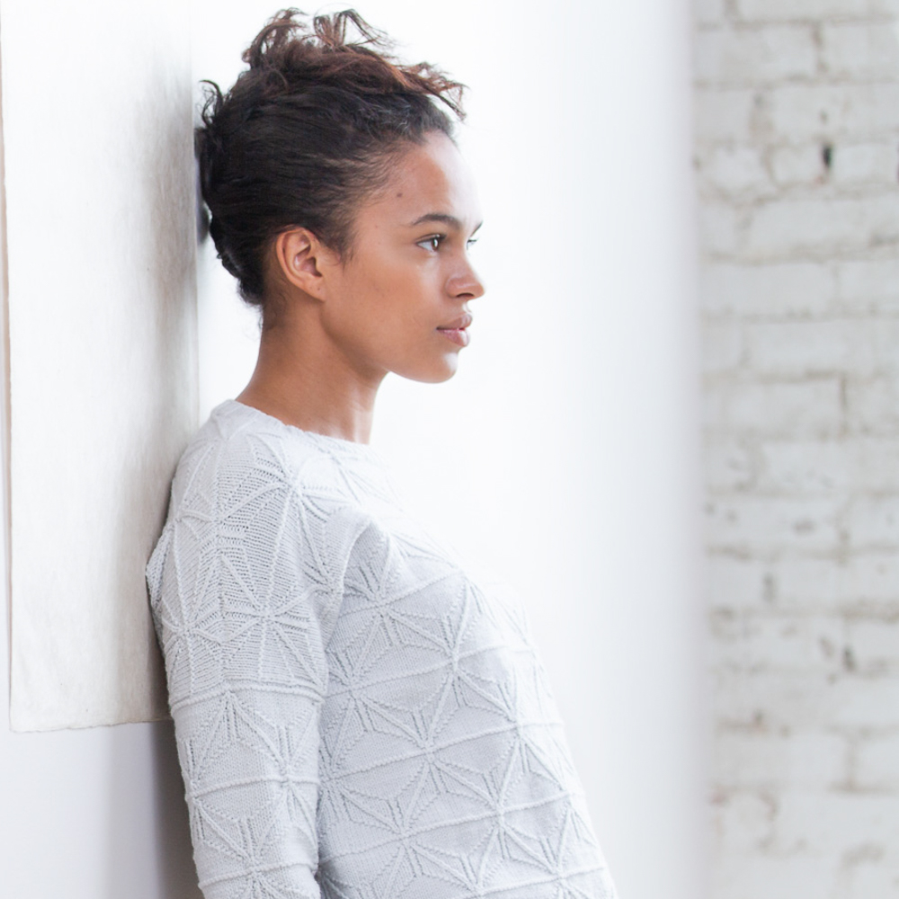 FOLDLINES SWEATER - Brooklyn Tweed