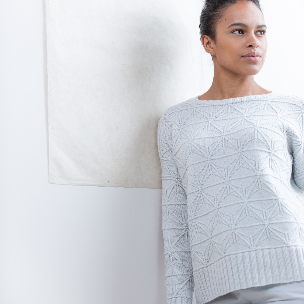 FOLDLINES Pullover - Brooklyn Tweed