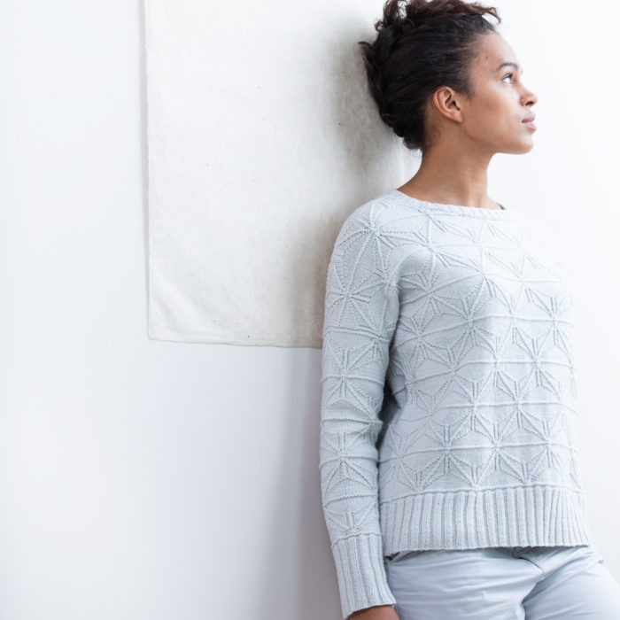 FOLDLINES Pullover - Brooklyn Tweed