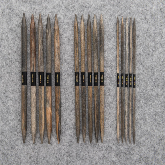 DRIFTWOOD DOUBLE-POINTED NEEDLE SET - Lykke
