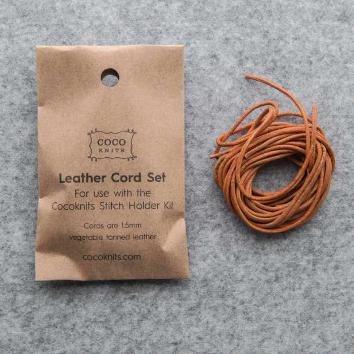 LEATHER CORDS SET - Cocoknits