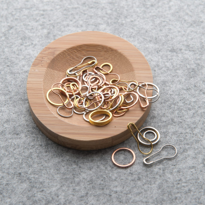 PRECIOUS METAL STITCH MARKERS - Cocoknits