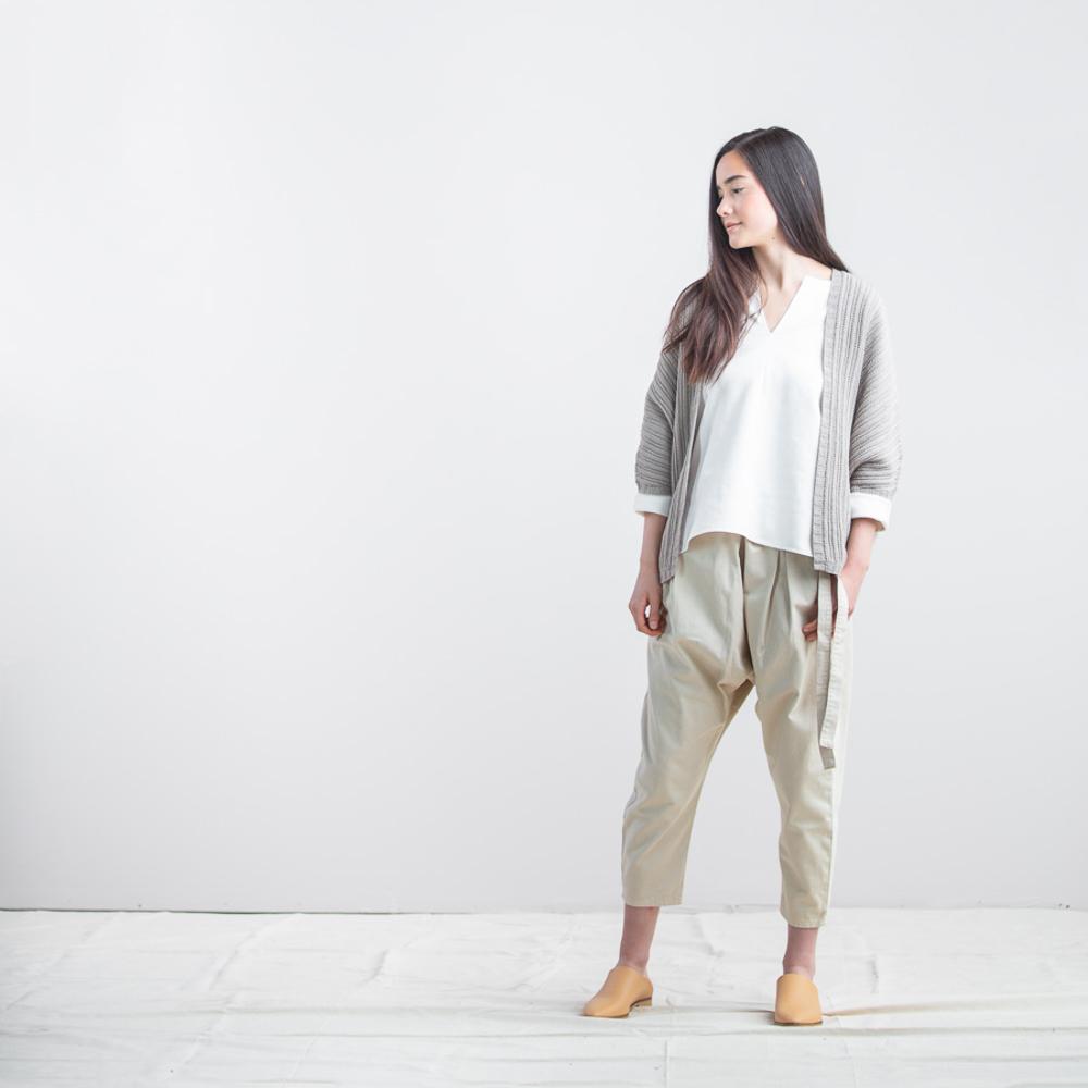 GILET ONDULEE - Brooklyn Tweed