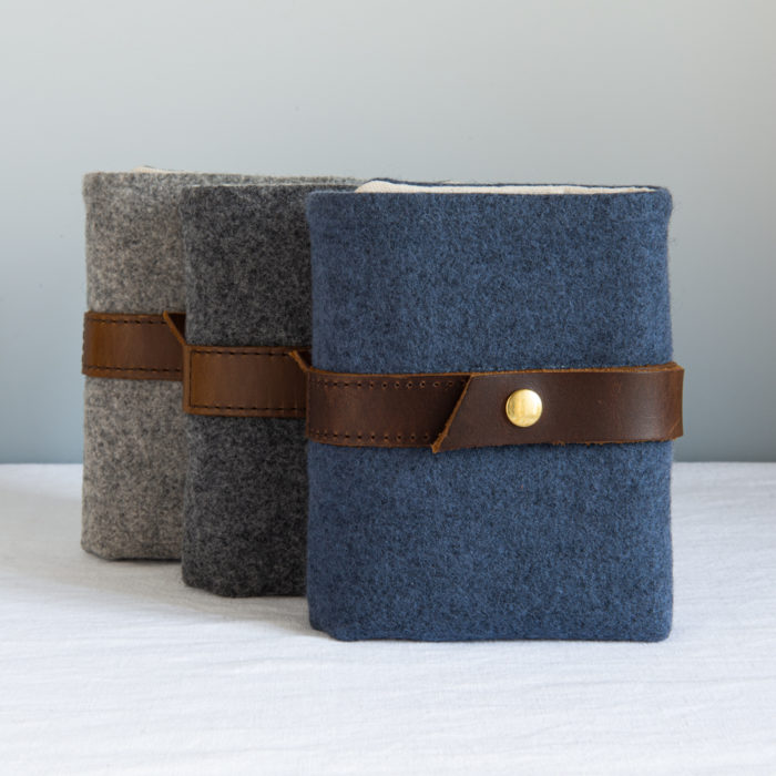 WOOL INTERCHANGEABLE NEEDLE CASE - Twig and Horn