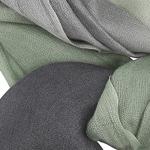 Gradient dark grey to green