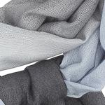 Gradient light blue to grey