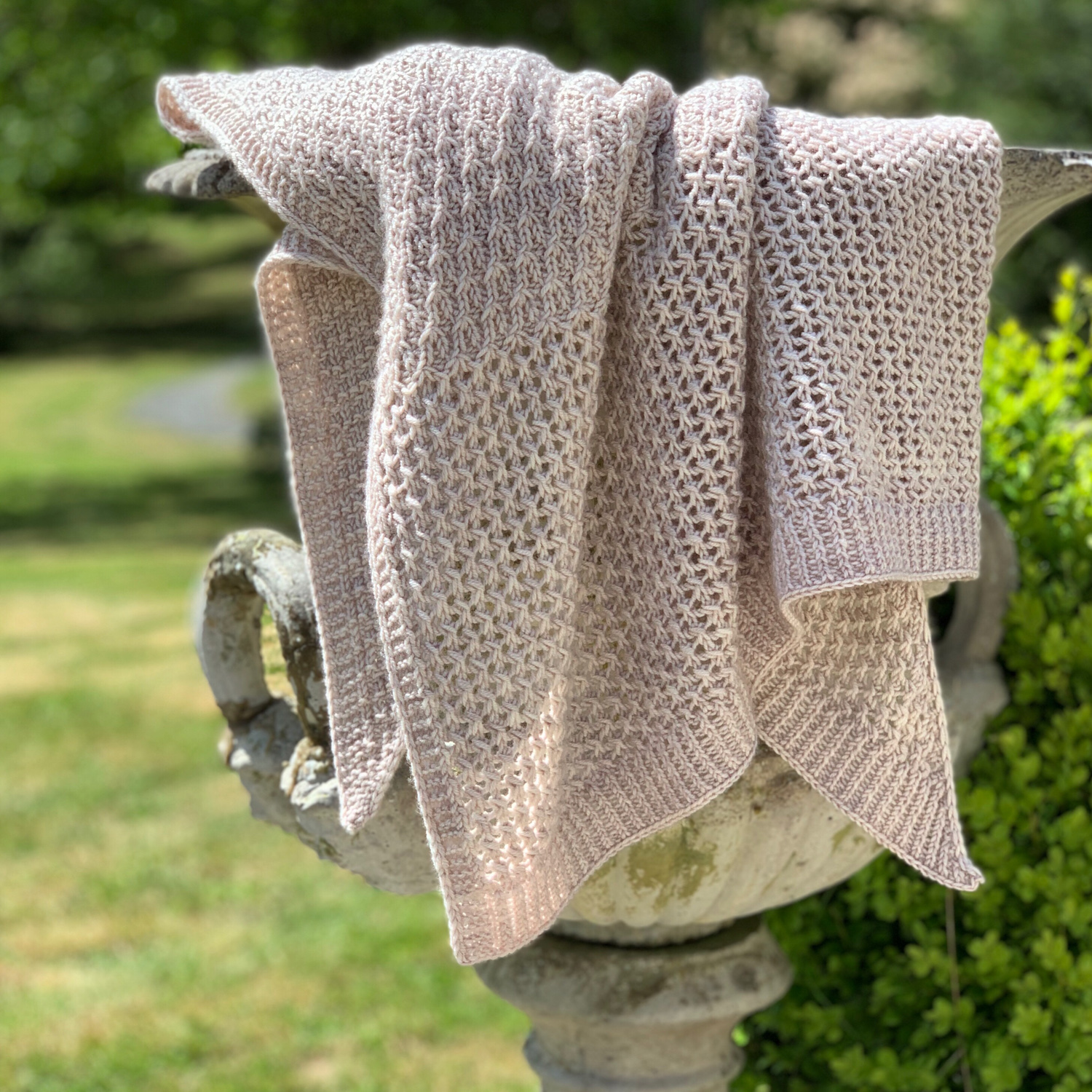 """""""ECLECTICITY"""" SHAWL KIT BY CHERYL FAUST - Woolissime Yarns"""