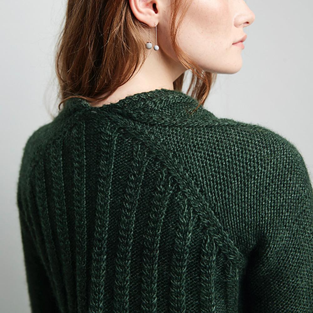 GILET SHIREGREEN - Erika Knight