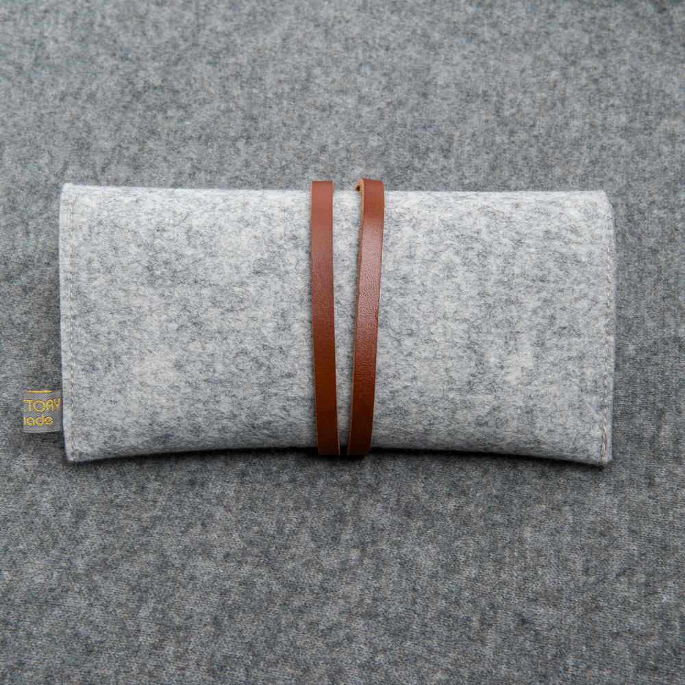 FELTED WOOL POUCH - Nice Factory