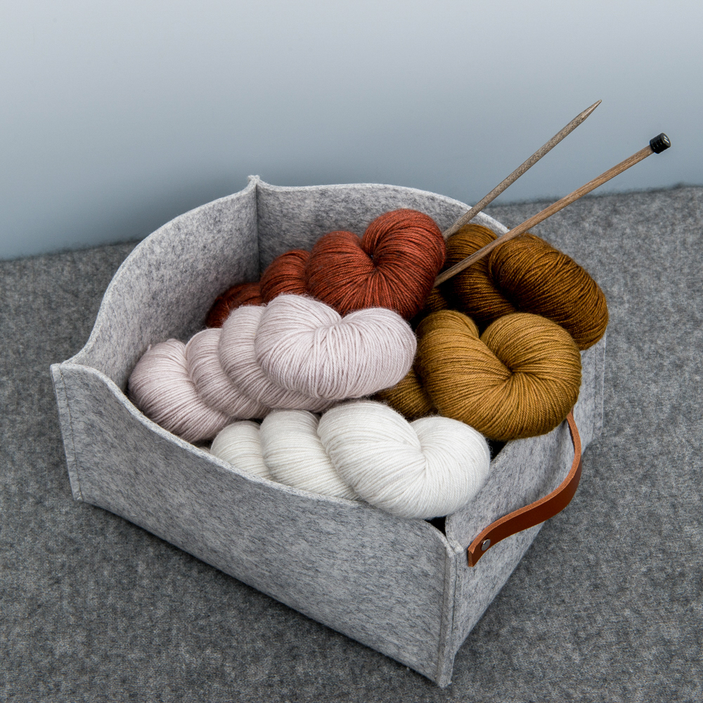 FELTED WOOL BASKETS - Nice Factory