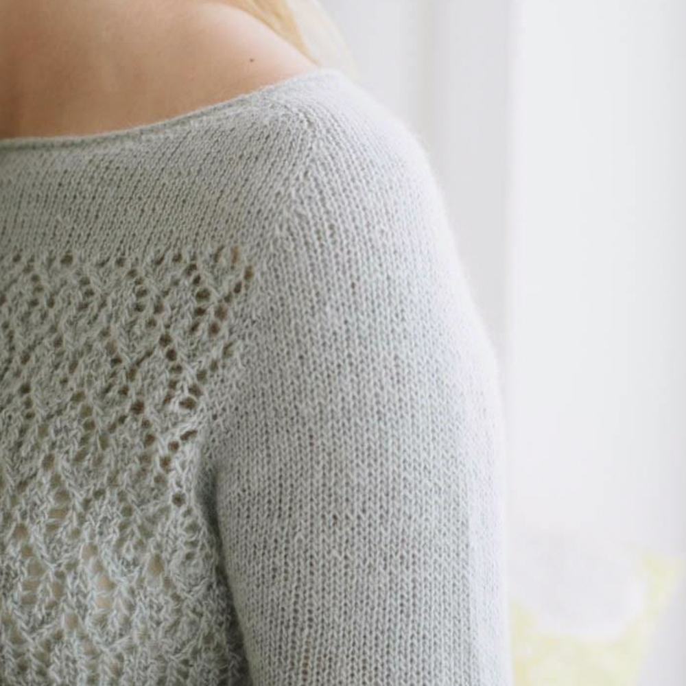 APRIL PULLOVER - QUINCE & CO