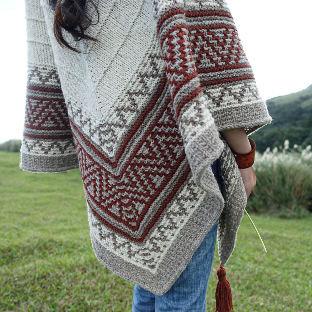 BOHO STYLE MOSAIC SHAWL KIT - Brooklyn Tweed