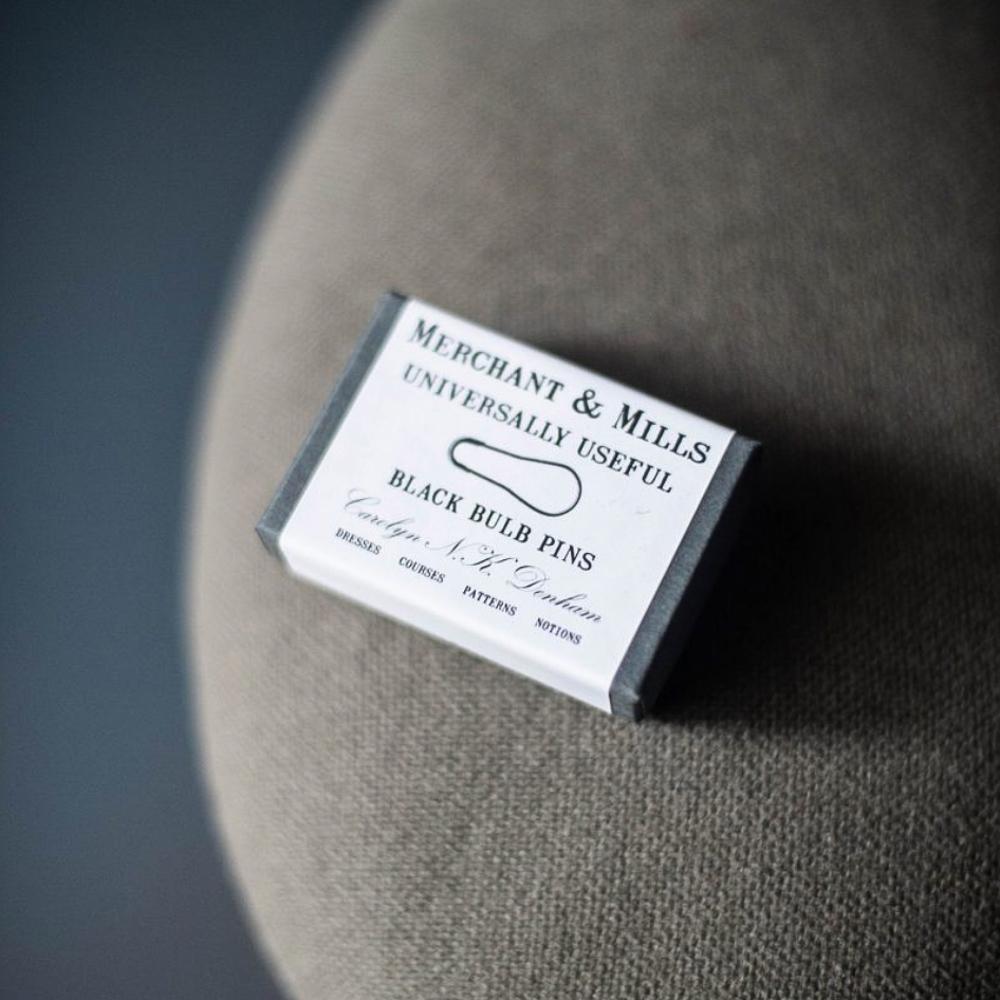 """MARQUEURS DE MAILLE """"BLACK"""" - Merchant & Mills"""