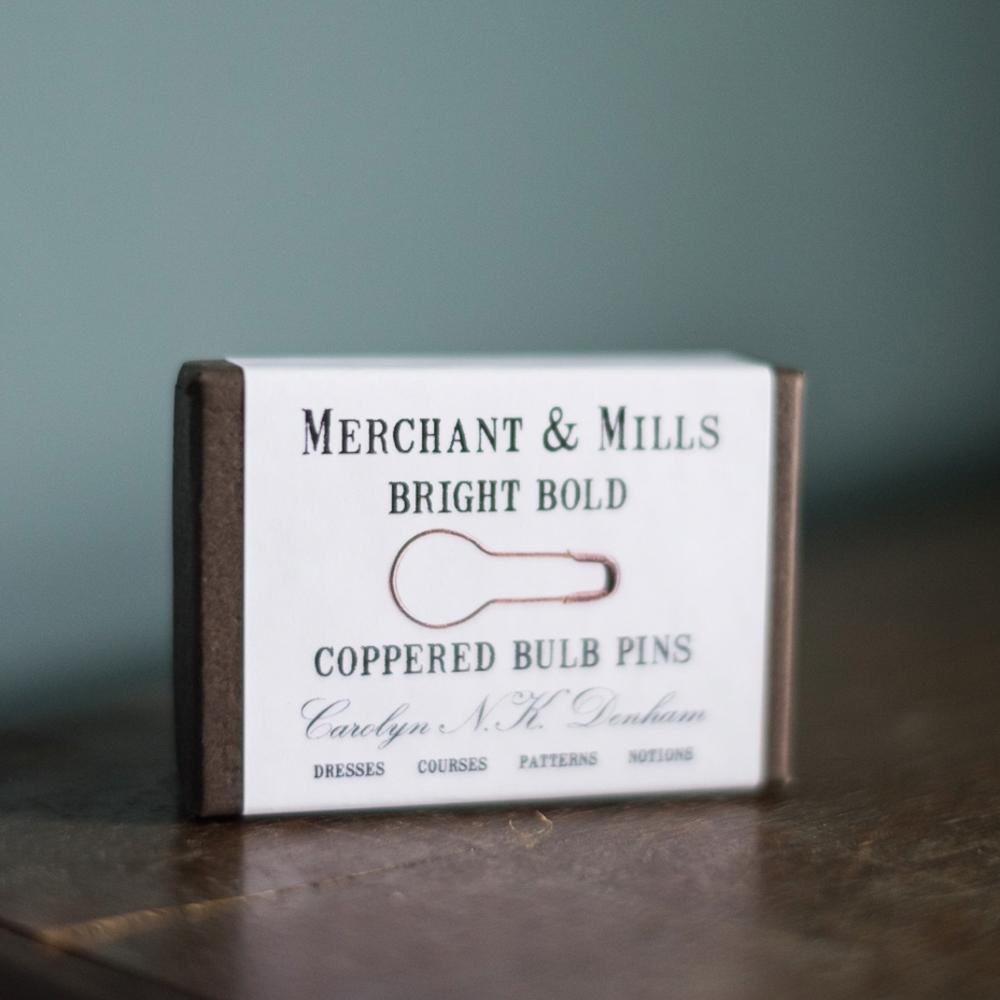 "STITCH MARKERS ""COPPER"" - Merchant & Mills"