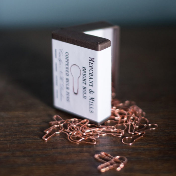 "STITCH MARKERS ""COPPER"" - Merchant & Mills"