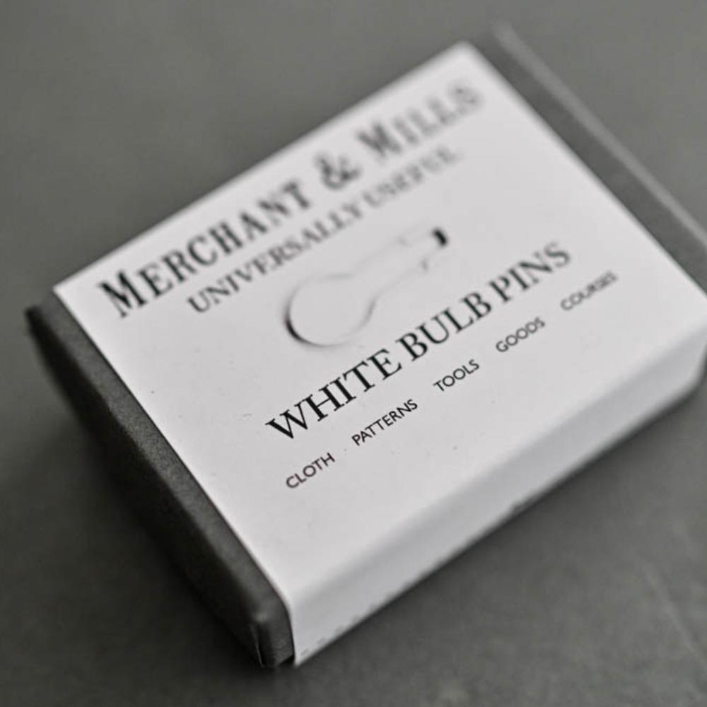 """MARQUEURS DE MAILLE """"WHITE"""" - Merchant & Mills"""