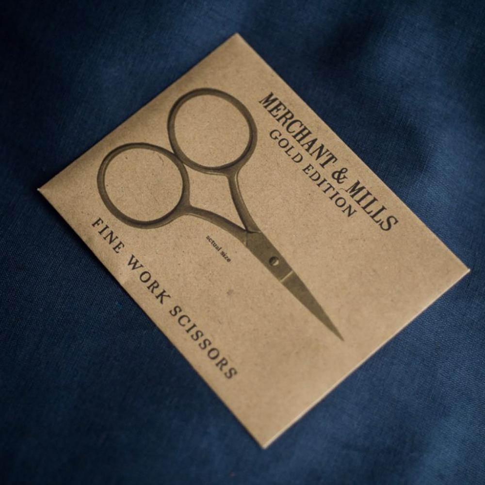 FINE WORK GOLD SCISSORS - Merchant & Mills