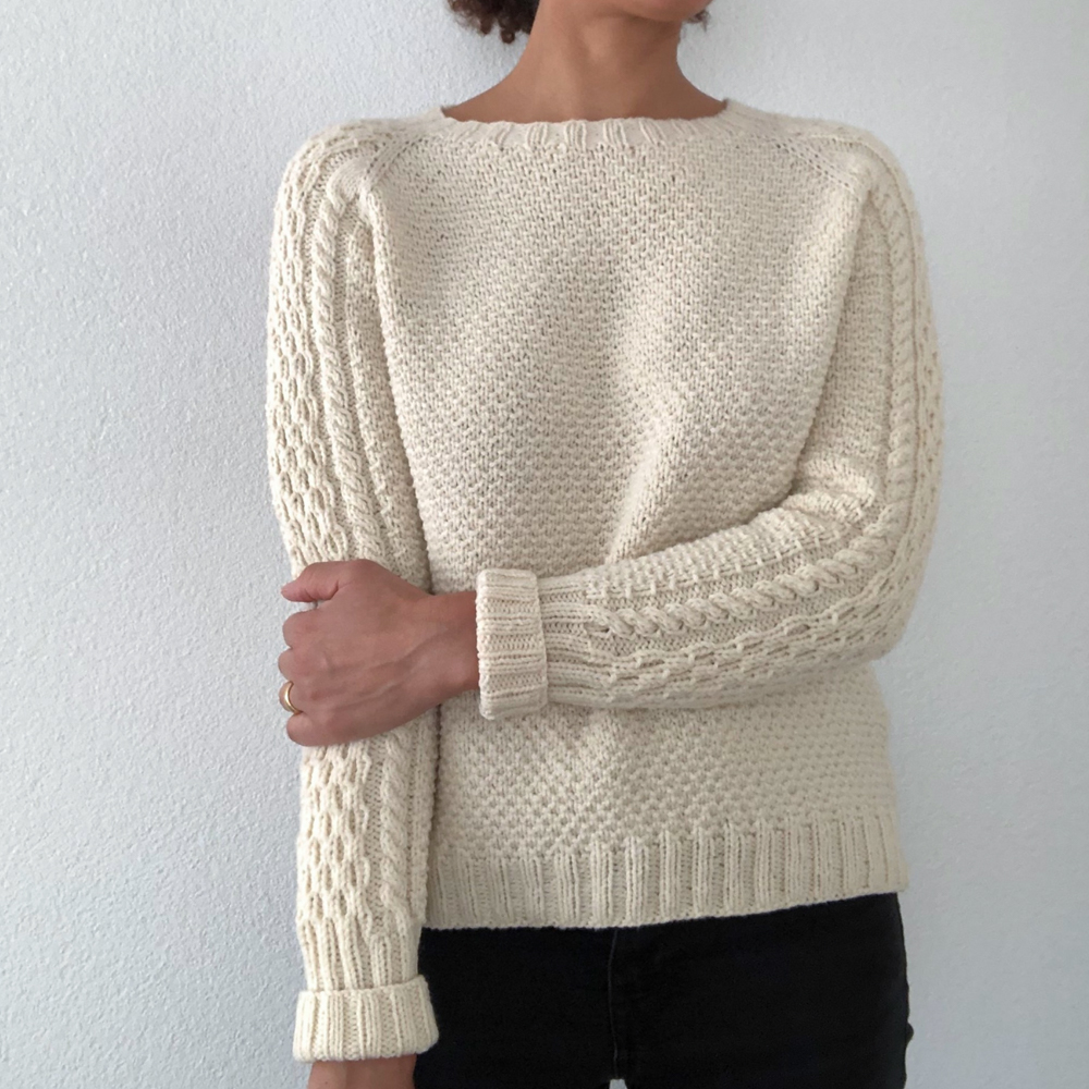 "KIT PULL ""THE WALTER SWEATER"" DE JOSEE PAQUIN"