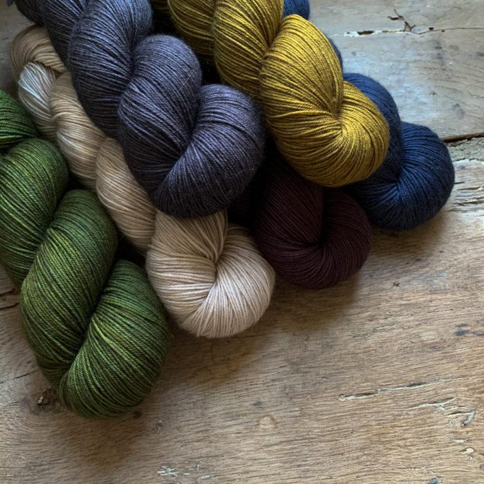 ISAURE - LAINE TEINTE A LA MAIN - Woolissime Yarns