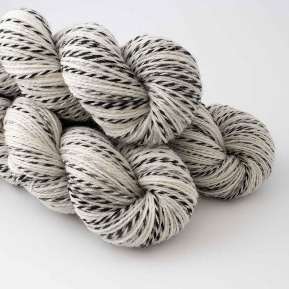 """BLACK AND WHITE"" - Woolissime Yarns"