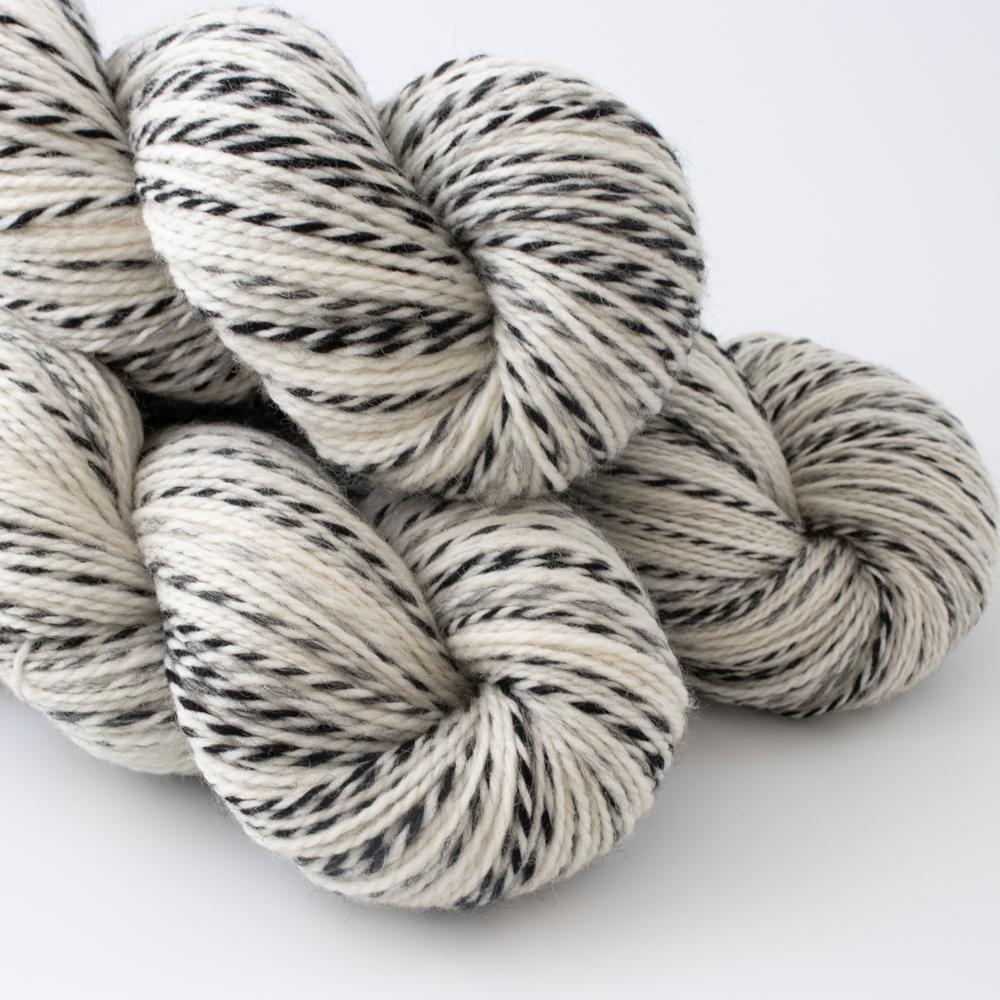 """BLACK AND WHITE"" - Woolissime Yarns"