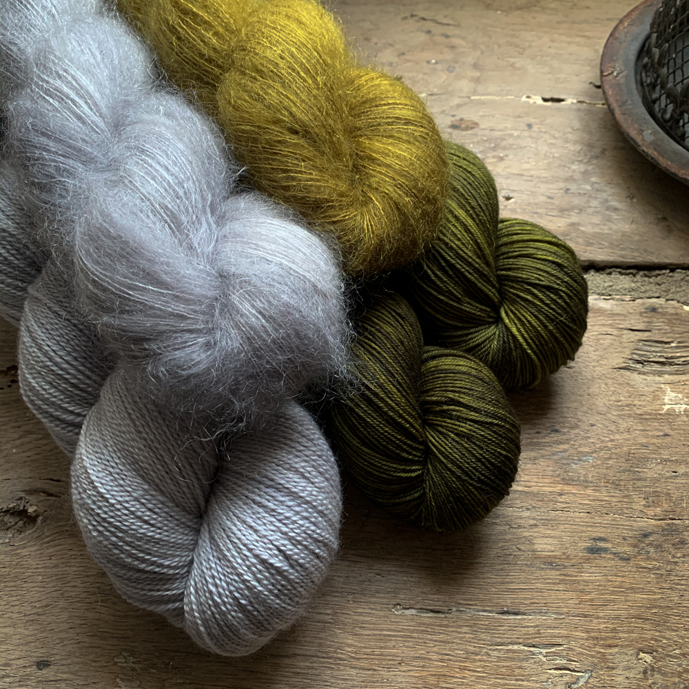 STELLA - HAND-DYED MOHAIR AND SILK YARN - Woolissime Yarns