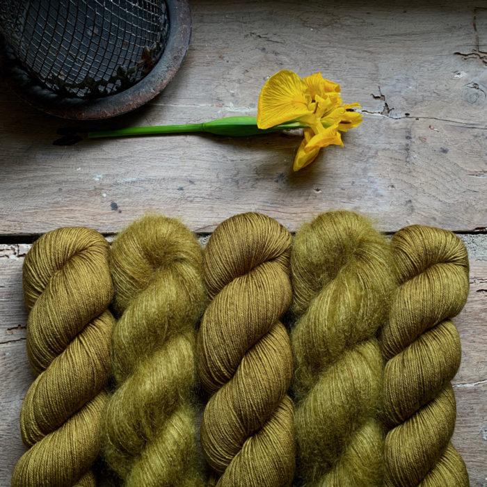 STELLA - FIL MOHAIR ET SOIE TEINT A LA MAIN - Woolissime Yarns
