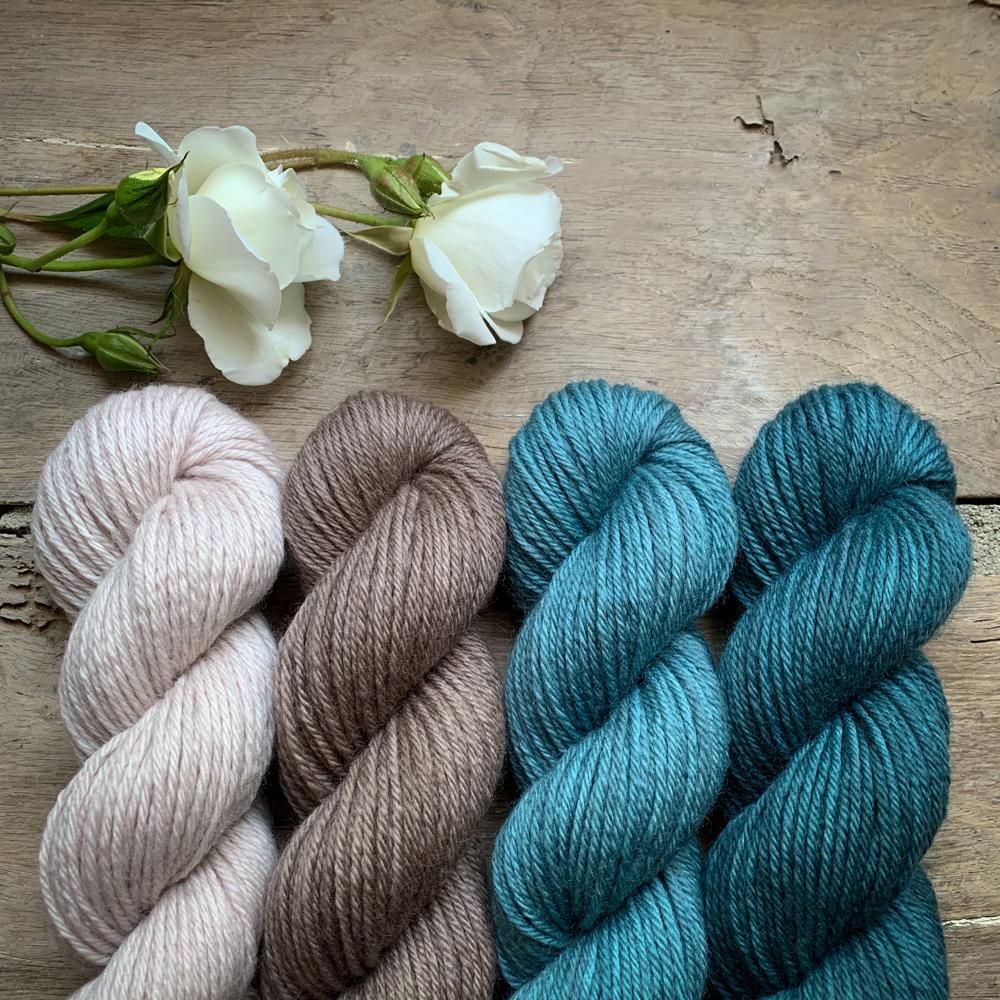 AURORE - FIL DK 100% MERINO ORGANIQUE TEINT A LA MAIN - Woolissime Yarns