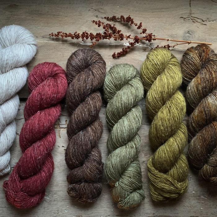 INES - FIL SINGLE MERINO ET LIN - Woolissime Yarns
