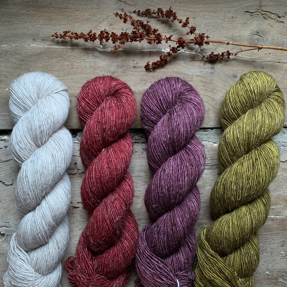 INES - FIL SINGLE MERINO ET LIN - Woolissime Yarns