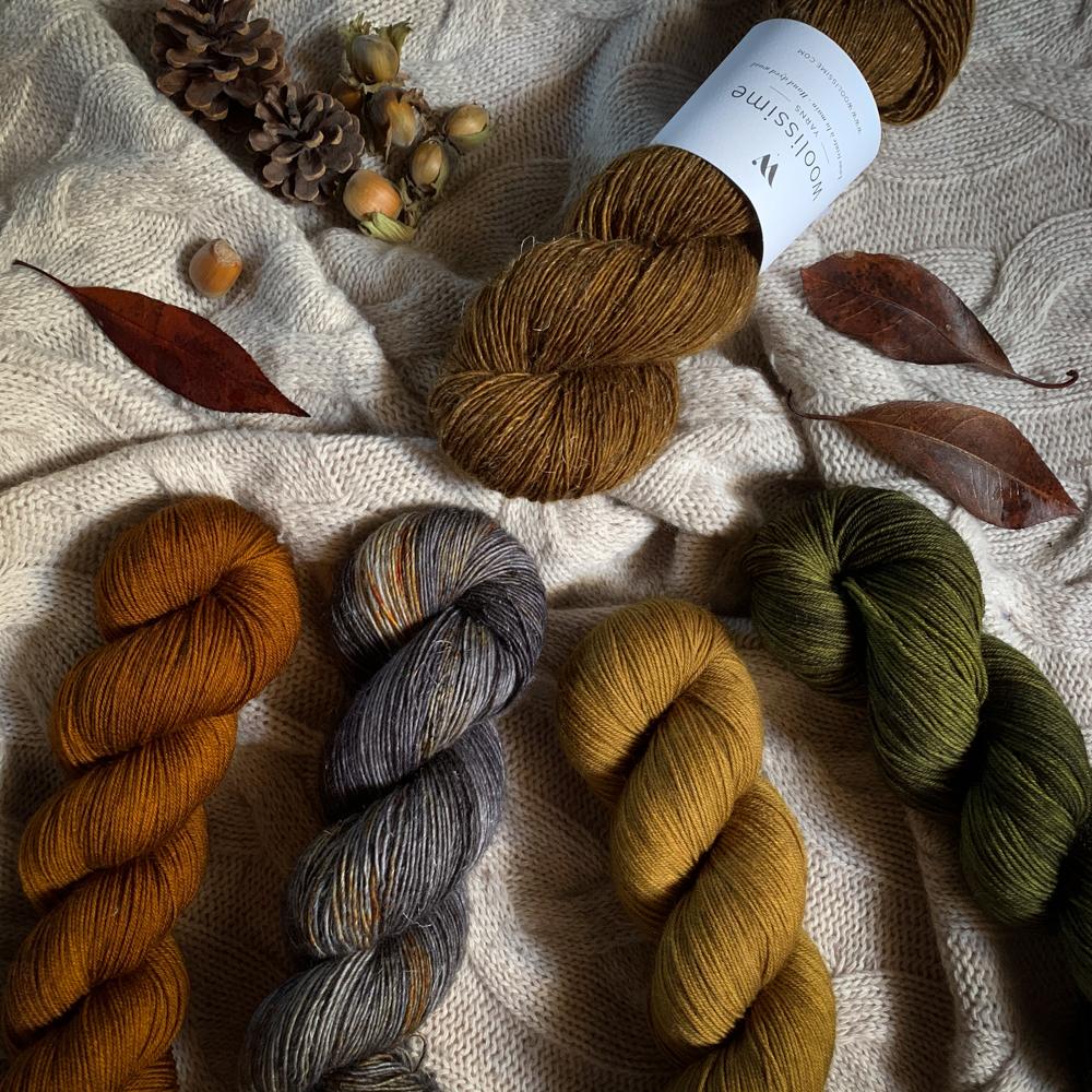 CÔME - 100% MERINO SINGLES - Woolissime Yarns
