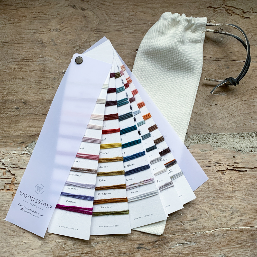 WOOLISSIME COLOR CHART
