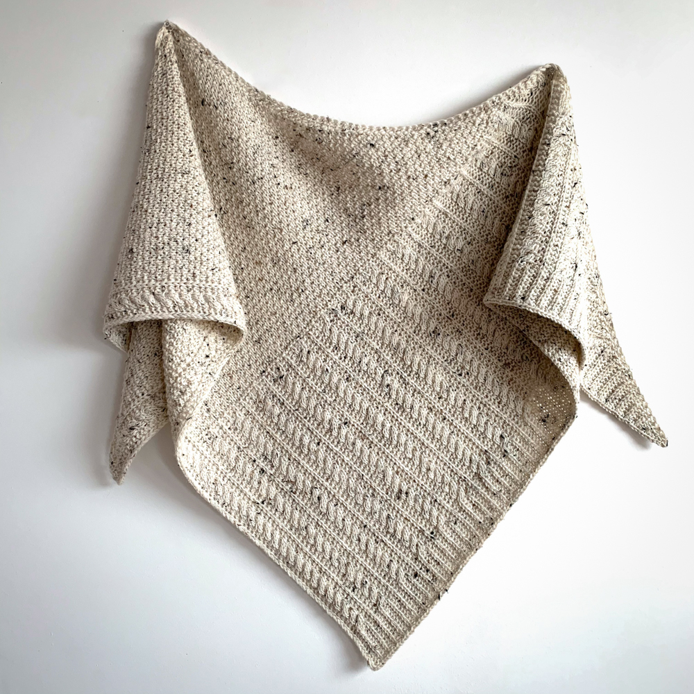 """SET FOR """"BEACH TALK SHAWL"""" by Gretha Mensen - Woolissime Yarns"""