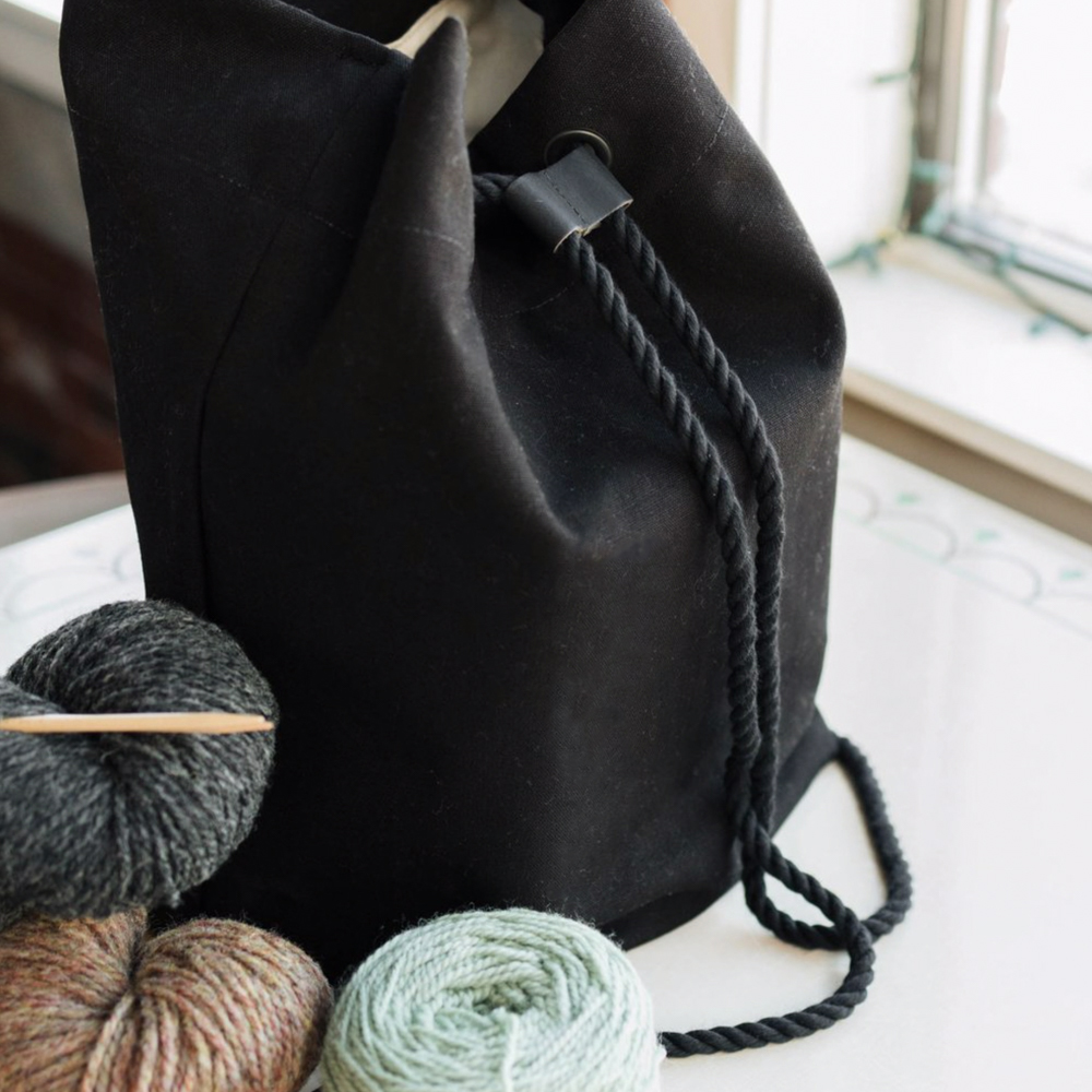 """""""MAKER'S BACKPACK"""" PROJECT BAG - Twig and Horn"""
