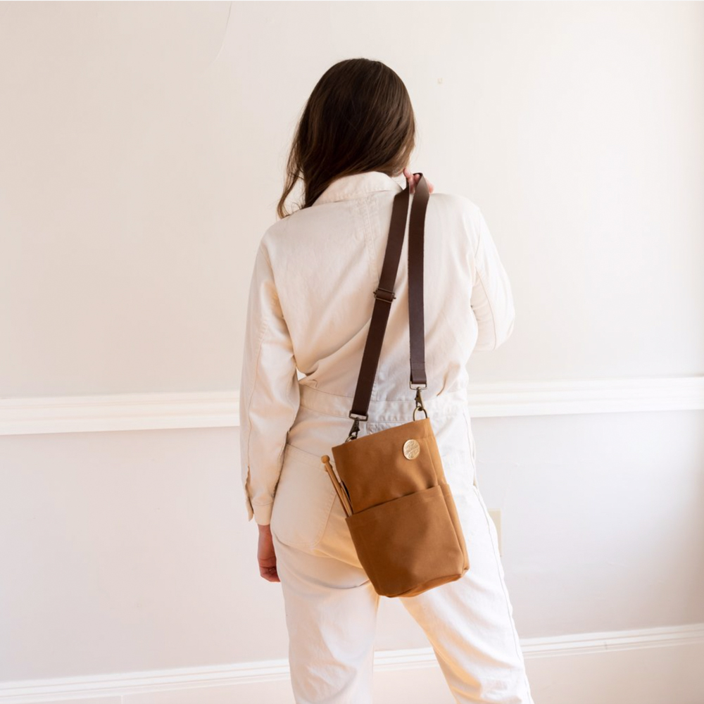 CANVAS BUCKET BAG - Twig and Horn