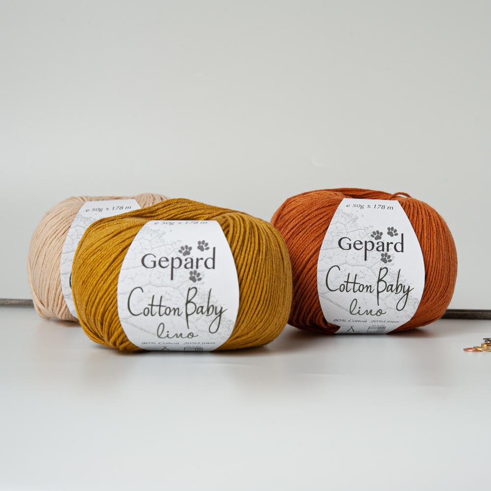 COTTON BABY LINO - Gepard Garn