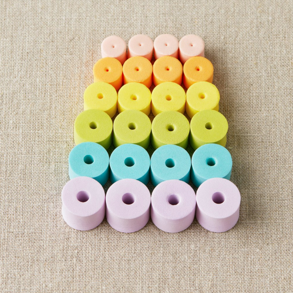 COLORFUL STITCH STOPPERS - Cocoknits