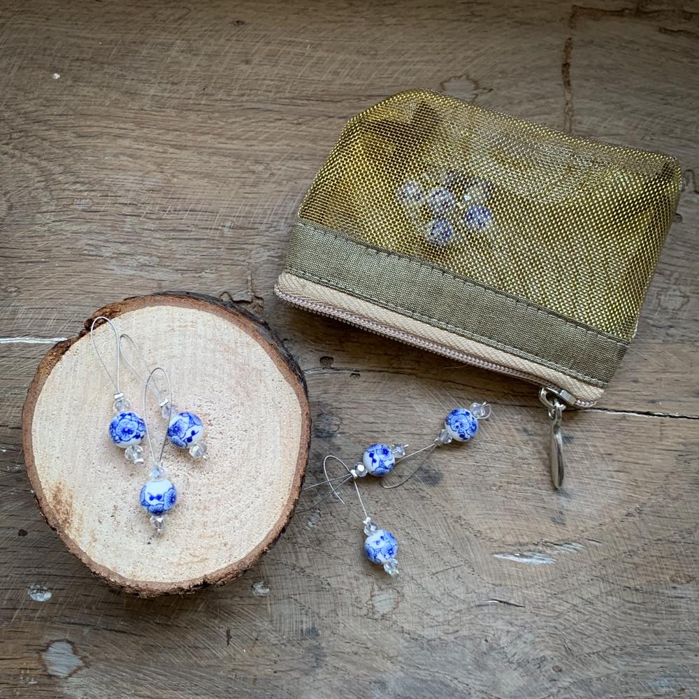 "MARQUEURS DE MAILLES ""BLOOMING BLUE"" - KNITPRO"