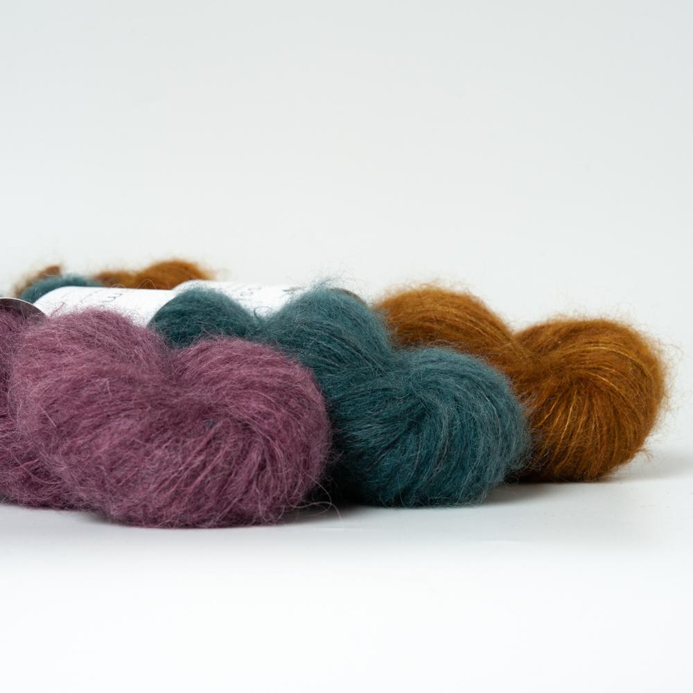 SURI - BABY ALPACA / MULBERY SILK - Woolissime Yarns