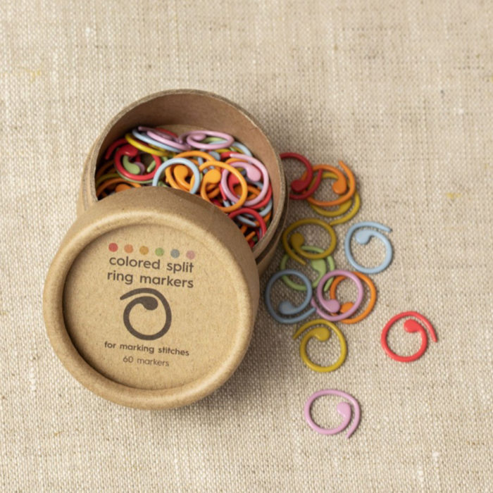 COLORED SPLIT RING MARKERS - Cocoknits