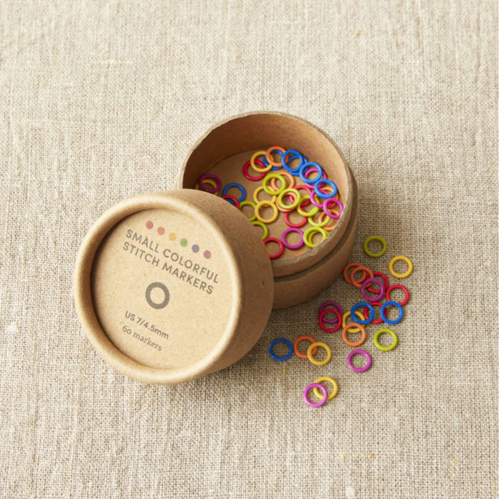 COLORED RING STITCH MARKERS - Cocoknits