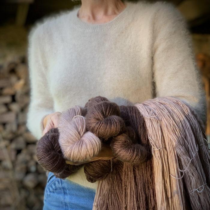 GRACE - FIL SINGLE FINGERING MERINO-KID MOHAIR - Woolissime Yarns